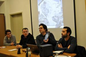 Simão Palmeirim, José Pedro Regatão, Fernando Rosa Dias e João Capitolino